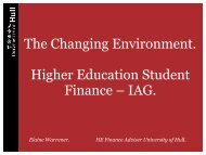 The Changing Environment. Higher Education ... - Practitioners