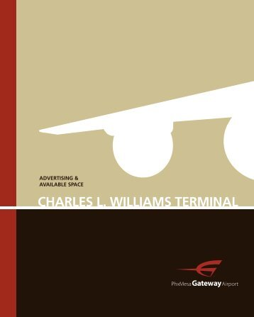 CHARLES L. WILLIAMS TERMINAL - Phoenix-Mesa Gateway Airport