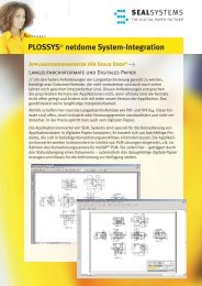 System-Integration Solid Edge - SEAL Systems AG