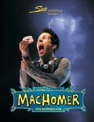 Machomer Keynotes:Layout 1.qxd - State Theatre