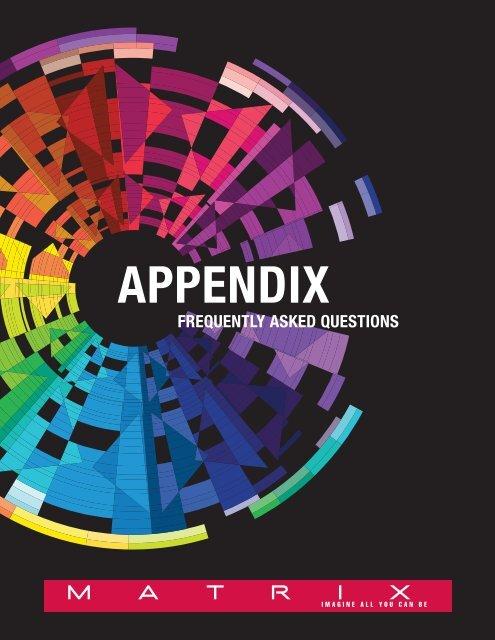 APPENDIX - MyMatrixFamily.com