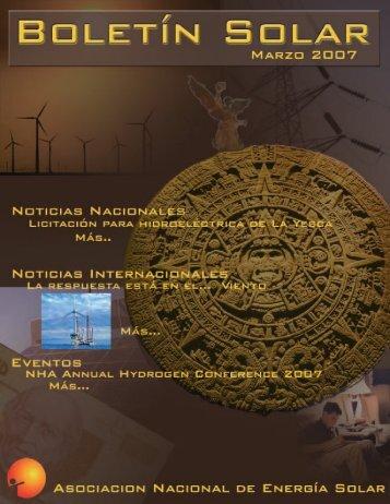 noticias nacionales - Asociación Nacional de Energía Solar