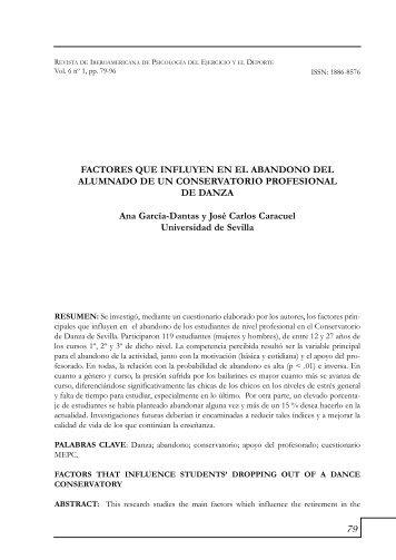 FACTORES QUE INFLUYEN EN EL ABANDONO DEL ALUMNADO ...