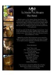 The Hotel - moulin de mougins