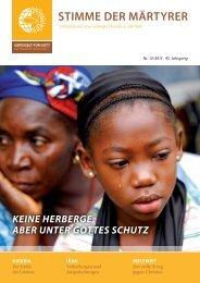 Ausgabe Dezember 2013 - HMK - Hilfe für verfolgte Christen