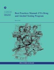 Best Practices (PDF Format) - Federal Transit Administration - U.S. ...