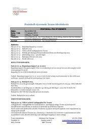 Protokoll styremøte Troms idrettskrets
