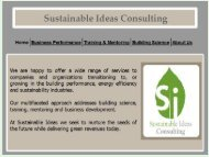 Sustainable Ideas Consulting - 2011 Colorado ENERGY STAR ...