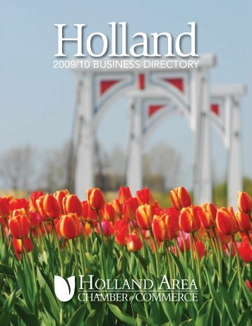 Holland Area Chamber Business Directory - Harbor House Publishers