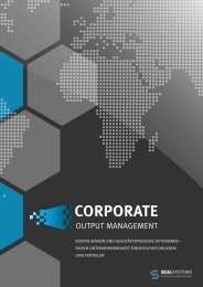 Corporate Output Management - SEAL Systems AG
