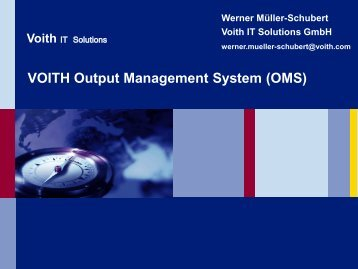 Voith - SEAL Systems AG