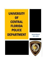 university of central florida police department - UCF Facilities and ...