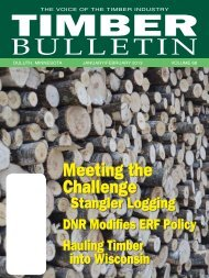Timber Bulletin Jan/Feb - Minnesota Forest Industries