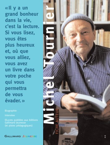 Fiche Auteur - Gallimard Jeunesse