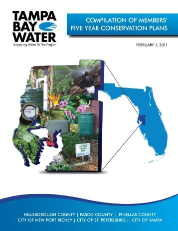 Five Year Conservation Plan 2010 - Tampa Bay Water