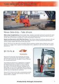 sheet pilers and excavator - Movax - Page 5