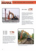 sheet pilers and excavator - Movax - Page 6