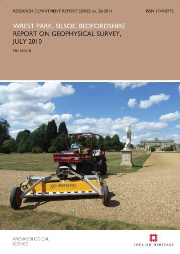 Report on Geophysical Survey, July 2010 - English Heritage