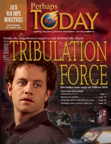 Tribulation Force - Jack Van Impe Ministries