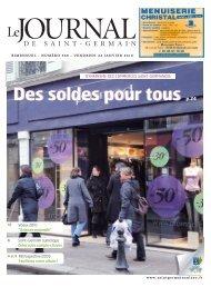 Des soldes pour tous - Saint Germain-en-Laye