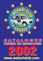point relais - Mehari 2 CV Club
