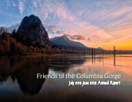 Donors Thank you! - Friends of the Columbia Gorge