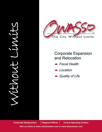 Corporate Expansion and Relocation - City of Owasso