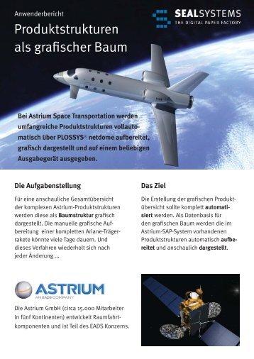 Bei Astrium Space Transportation werden umfangreiche ...