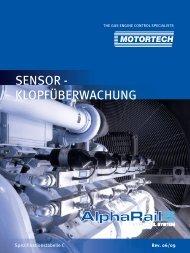 SENSOR - KLOPFÜBERWACHUNG - Motortech GmbH