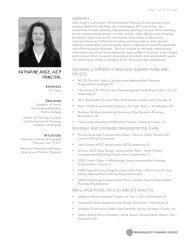 KATHARINE ANGE, AICP PRINCIPAL - Renaissance Planning Group