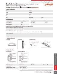 Slewing rings/turntable bearings - Kaydon Bearings
