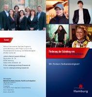 Förderung der Gründung von Kleinstunternehmen ... - WK-Hamburg
