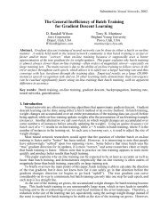 Batch Inefficiency paper - Neural Networks and Machine Learning ...