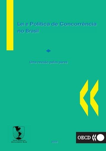 Lei e Política de Concorrência no Brasil - SEAE - Ministério da ...