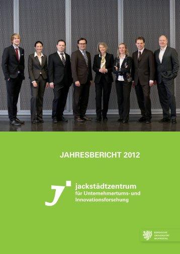 jahresbericht 2012 - Jackstädt Zentrum für Unternehmertums- und ...