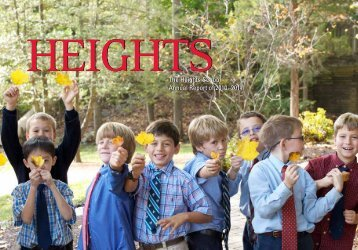 The Heights School Annual Report of 2010?2011 HeigHtsThe ...