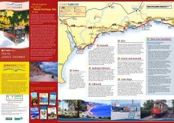 117015 Jurassic Bus Leaflet - Jurassic  Coast