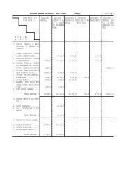 analisi della spesa 2009 - Comune di Amalfi