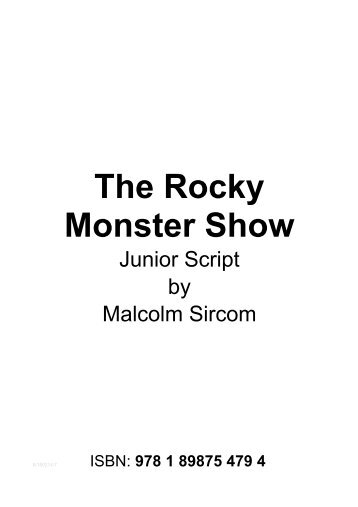 The Rocky Monster Show - Musicline