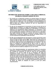 23/04/2010 Balanza Comercial de México en marzo de 2010 La ...