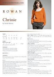 Chrissie - Rowan