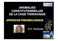 Approche pneumologique - Société pédiatrique de pneumologie et ...