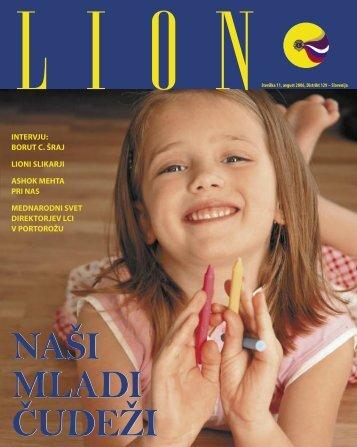 Lion, Å¡tevilka 11, avgust 2006 - Lions Distrikt 129