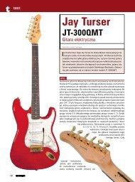 Jay Turser JT 300 QMT - Music Info