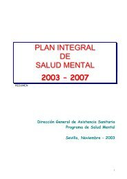 del plan integral de salud mental 2003-2007 - Página 1 de cada 4
