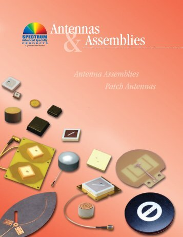 Antennas Assemblies - Spectrum Microwave by API Technologies