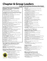 Chapter & Group Leaders - Sierra Club