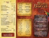 Draught Beer - Rum Barrel