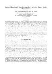Optimal Landmark Distributions for Statistical Shape Model ... - Dkfz