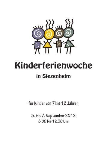 3-Tages-Preis - kinderferienwoche.at